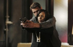 Jake and Olivia, Scandal.   Photo: ABC/Tony Rivetti.
