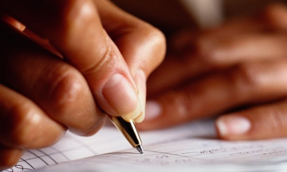 Image result for black woman writing