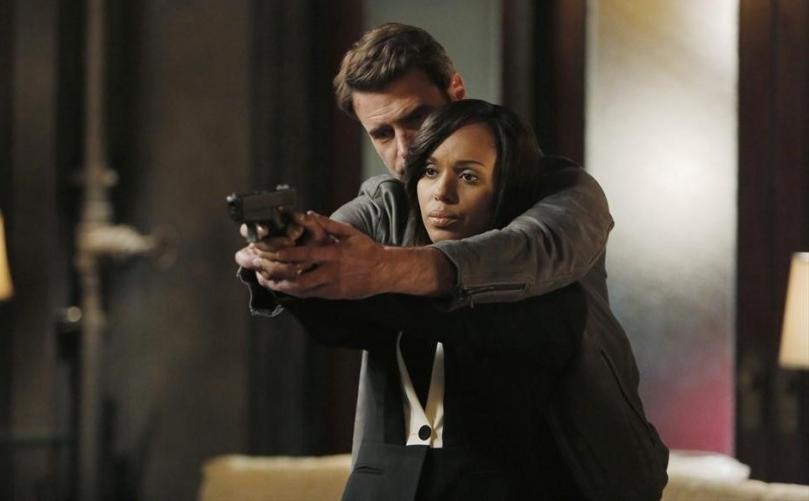 Jake and Olivia, Scandal. Photo: ABC/Tony Rivetti.