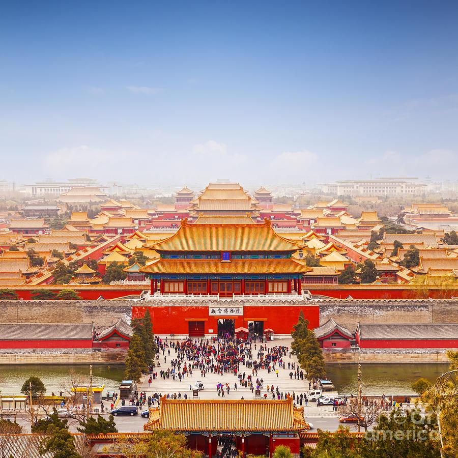 Forbidden City-Beijing, China.